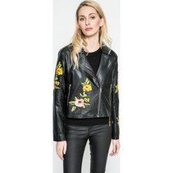 Answear - Kurtka Blossom Mood. Czarne kurtki damskie ramoneski marki ANSWEAR, l, z materiału. W wyprzedaży za 119,90 zł.