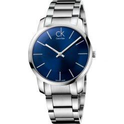 ZEGAREK CALVIN KLEIN CITY GENT K2G2114N. Niebieskie zegarki męskie Calvin Klein, szklane. Za 899,00 zł.