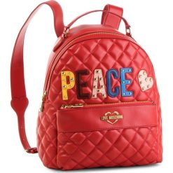 Plecak LOVE MOSCHINO - JC4227PP06KC0500 Rosso. Czerwone plecaki damskie Love Moschino, ze skóry ekologicznej. Za 929,00 zł.