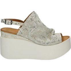 Sandały damskie: Sandały – 501091 WHI-SI