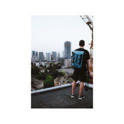 Plecak Explorer 20l Blue. Niebieskie plecaki damskie Fish dry pack, z materiału, sportowe. Za 179,00 zł.
