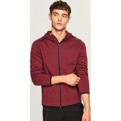 Bluza z kapturem - Bordowy. Czerwone bluzy męskie rozpinane marki KALENJI, m, z elastanu, z długim rękawem, długie. Za 69,99 zł.