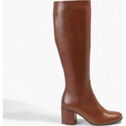 Kozaki brązowe Rachele. Brązowe buty zimowe damskie Badura. Za 319,99 zł.