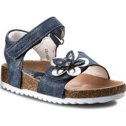 Sandały dziewczęce: Sandały NELLI BLU – CS17007-18 Granatowy