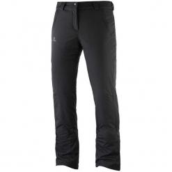 Salomon Damskie Spodnie Narciarskie Stormseason Pant W Black Xs/R. Szare spodnie damskie narciarskie marki Salomon, z gore-texu, na sznurówki, gore-tex. Za 565,00 zł.