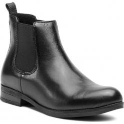 Sztyblety SERGIO BARDI - Brianza FW127355318CC  101. Czarne buty zimowe damskie Sergio Bardi, ze skóry, na obcasie. W wyprzedaży za 199,00 zł.