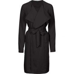 Płaszcze damskie: Letni płaszcz, bez podszewki bonprix czarny
