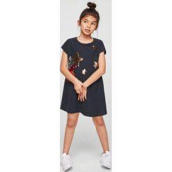 Odzież dziecięca: Mango Kids – Sukienka dziecięca Fugaz 110-164 cm