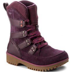 Kozaki dziewczęce: Śniegowce SOREL – Youth Meadow Lace NY2414 Purple Dahlia/Spicy 562