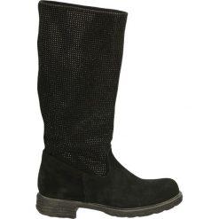 Kozaki - 326S CAM NERO. Czarne buty zimowe damskie marki Venezia, ze skóry. Za 299,00 zł.