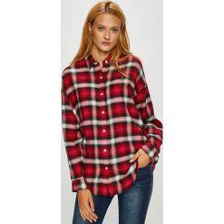 Levi's - Koszula. Brązowe koszule damskie w kratkę Levi's®, l, z tkaniny, casualowe, z klasycznym kołnierzykiem, z długim rękawem. Za 279,90 zł.