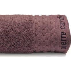 Kąpielówki męskie: Ręcznik w kolorze brązowym