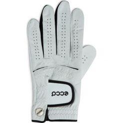 Golfy męskie: ECCO Golf Glove Men's – Biały – S – Akcesoria