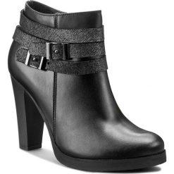 Botki SERGIO BARDI - Maria FW127278817MP 101. Czarne buty zimowe damskie Sergio Bardi, ze skóry, eleganckie, na platformie, z paskami. W wyprzedaży za 249,00 zł.