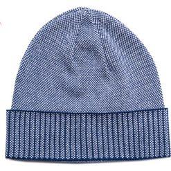 Czapka CZW0000024. Brązowe czapki zimowe męskie Giacomo Conti, z bawełny. Za 89,00 zł.