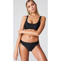 Stroje dwuczęściowe damskie: NA-KD Swimwear Sportowy dół bikini – Black