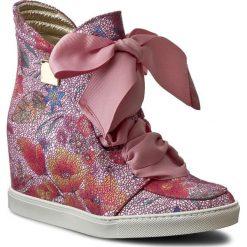 Sneakersy BALDOWSKI - D01022-SNIK-119 Alaska Róż. Czerwone sneakersy damskie Baldowski, z materiału. W wyprzedaży za 399,00 zł.