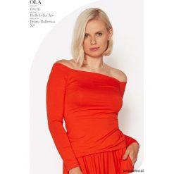 Bluzki damskie: Bluzka Hollyłódka pomarańczowa