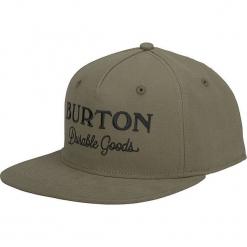 """Czapka """"Durable"""" w kolorze khaki. Brązowe czapki z daszkiem męskie Burton. W wyprzedaży za 56,95 zł."""