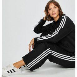 Adidas Originals - Bluza. Szare bluzy rozpinane damskie adidas Originals, z bawełny, bez kaptura. W wyprzedaży za 279,90 zł.