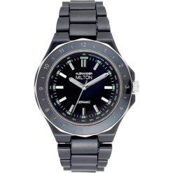 """Zegarki męskie: Zegarek kwarcowy """"Keren"""" w kolorze czarno-srebrnym"""