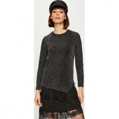 Answear - Bluzka Night Fever. Czarne bluzki z odkrytymi ramionami marki DOMYOS, uniwersalny. Za 89,90 zł.