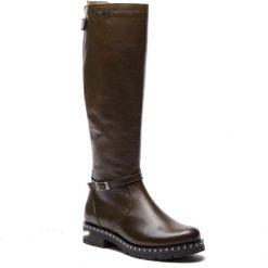 Oficerki EVA MINGE - Torres 4T 18SM1372501EF 162. Czarne buty zimowe damskie marki Eva Minge, ze skóry ekologicznej. W wyprzedaży za 309,00 zł.