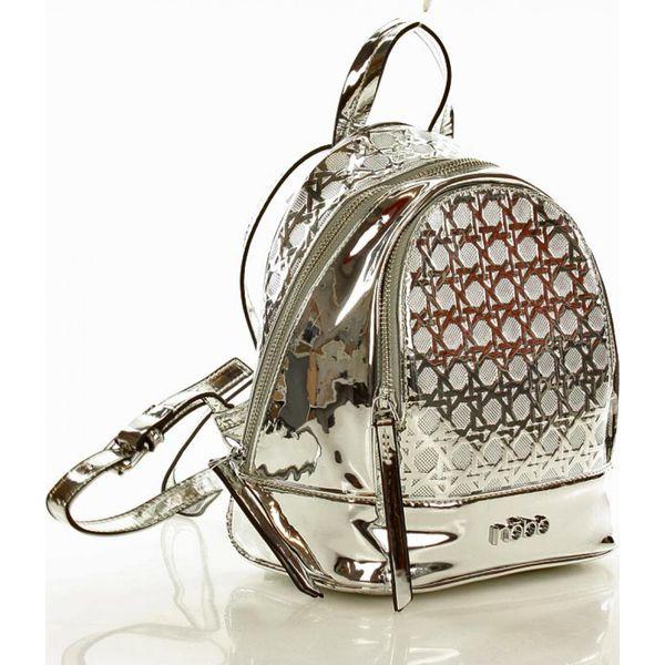 aa6be662f1975 Designerski plecak nobo - Szare torby na laptopa Verostilo