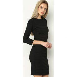 Czarna Sukienka Seduce. Czarne sukienki hiszpanki Born2be, uniwersalny, mini. Za 69,99 zł.