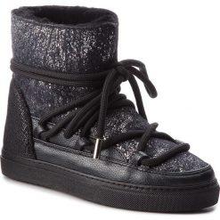 Buty INUIKII - Sneaker 70202-24 Burret Black. Czarne buty zimowe damskie Inuikii, z materiału. Za 1129,00 zł.