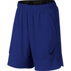 """Nike Spodenki Treningowe Flex 8"""" 742242 455 L. Niebieskie spodenki sportowe męskie marki Nike, z tkaniny, sportowe. W wyprzedaży za 139,00 zł."""