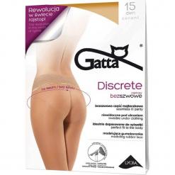 Gatta - Rajstopy Discrete 15 DEN. Różowe pończochy i rajstopy Gatta. Za 27,90 zł.