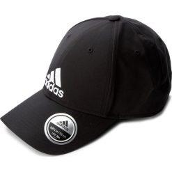 Czapka adidas - 6Pcap Ltwgt Emb S98159 Black/Black/White. Czarne czapki z daszkiem damskie Adidas, z materiału. Za 59,00 zł.