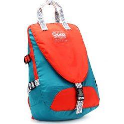 Plecaki męskie: Plecak w kolorze pomarańczowo-błękitnym – 30 x 46 x 18 cm