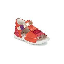 Sandały Dziecko  Kickers  BIHILANA. Niebieskie sandały dziewczęce marki Kickers, z kauczuku, na sznurówki. Za 181,30 zł.