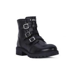 Kozaki Dziecko Nero Giardini  NERO GIARDINI  MANAUS. Czarne buty zimowe chłopięce Nero Giardini. Za 534,20 zł.