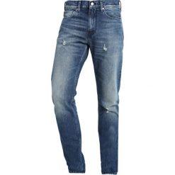 Calvin Klein Jeans 026 SLIM Jeansy Slim Fit blue denim. Niebieskie jeansy męskie relaxed fit Calvin Klein Jeans. Za 589,00 zł.