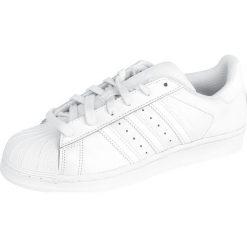 Adidas Superstar Foundation Buty sportowe biały. Białe buty skate męskie Adidas, w paski, z gumy, adidas superstar. Za 284,90 zł.