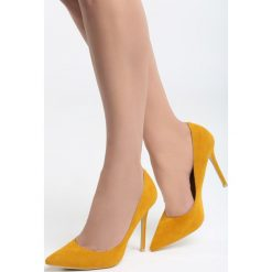 Szpilki: Żółte Szpilki Mariko