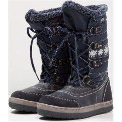 Lurchi ALPY TEX Śniegowce navy. Czarne buty zimowe damskie marki Lurchi, z materiału. W wyprzedaży za 199,20 zł.
