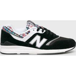 New Balance - Buty WL697TRA. Szare buty sportowe damskie New Balance, z gumy. W wyprzedaży za 379,90 zł.