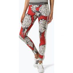 Adidas Originals - Sportowe legginsy damskie, biały. Białe legginsy damskie do fitnessu adidas Originals, l, z nadrukiem. Za 179,95 zł.