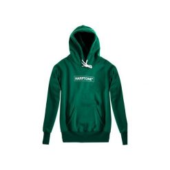 Bluza Hoodie Classic Harptone Green. Zielone bejsbolówki męskie Harp Team, l, z nadrukiem, z bawełny, z długim rękawem, długie. Za 229,00 zł.