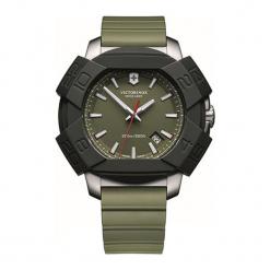 """Zegarek """"241683.1"""" w kolorze czarno-khaki. Brązowe zegarki męskie Victorinox, ze stali. W wyprzedaży za 1299,95 zł."""