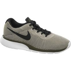 Buty męskie Nike Tanjun Racer NIKE oliwkowe. Czarne buty sportowe męskie marki Nike, z materiału, nike tanjun. Za 209,00 zł.