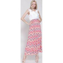 Sukienki hiszpanki: Różowa Sukienka Union Trade