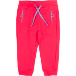 Spodnie. Czerwone chinosy chłopięce CATRONAUTA, z bawełny. Za 24,90 zł.