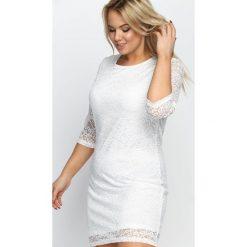 Sukienki: Biała Sukienka Wilec