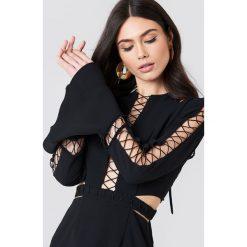 Sukienki hiszpanki: Finders Sukienka Borderlines – Black
