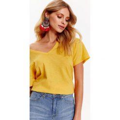 T-shirty damskie: T-SHIRT DAMSKI Z BAWEŁNY ORGANICZNEJ